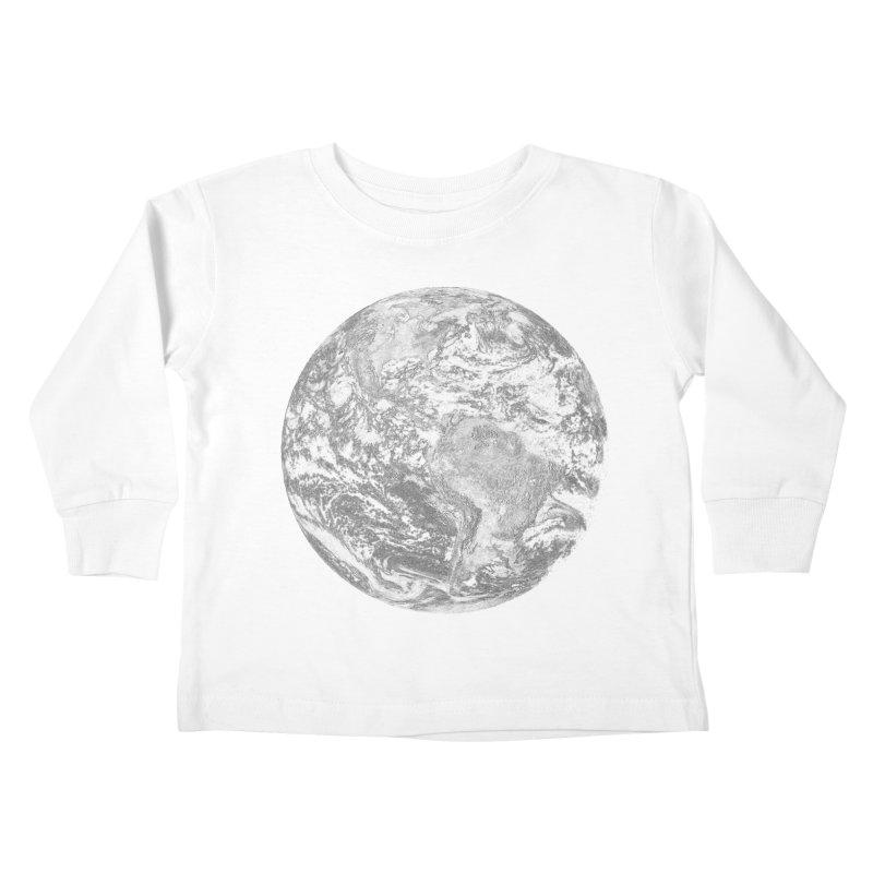 Earth Kids Toddler Longsleeve T-Shirt by Tello Daytona's Artist Shop