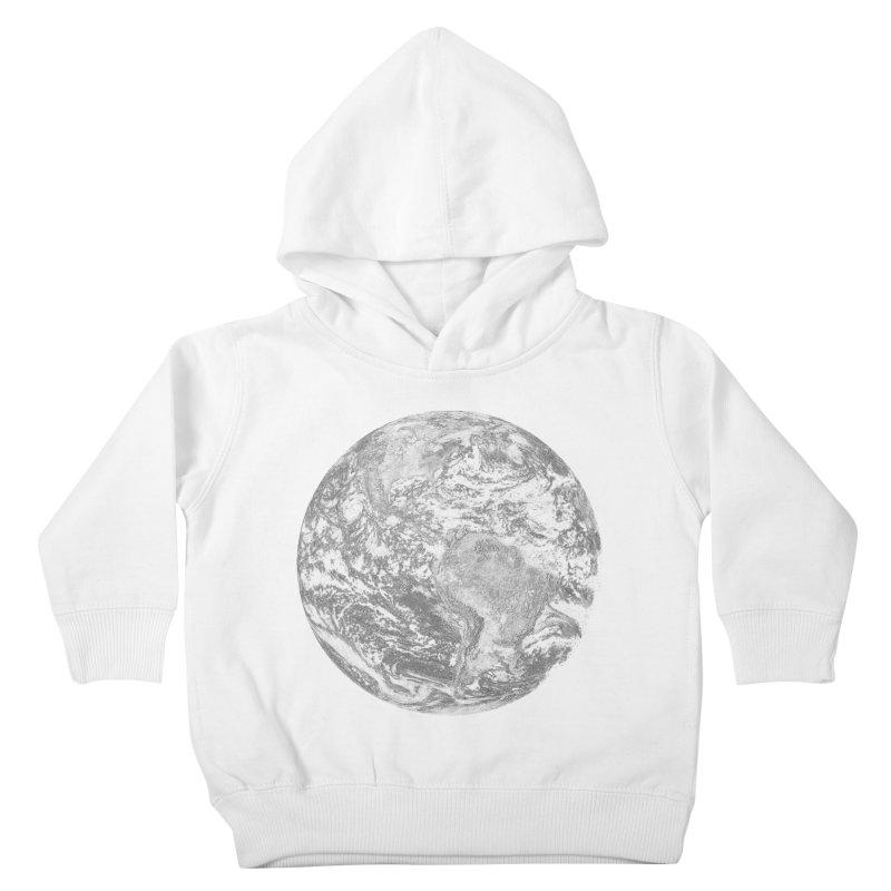 Earth Kids Toddler Pullover Hoody by Tello Daytona's Artist Shop