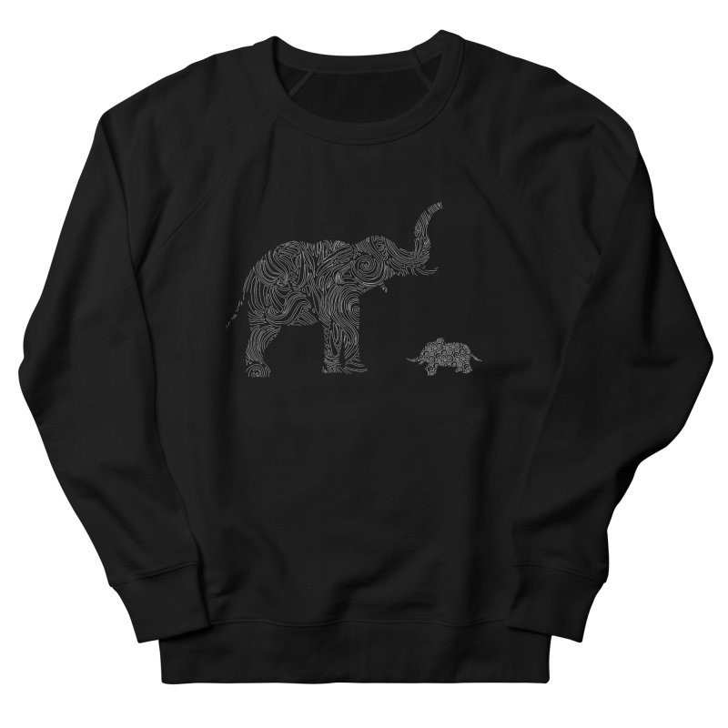 Elephants  Women's Sweatshirt by Tello Daytona's Artist Shop