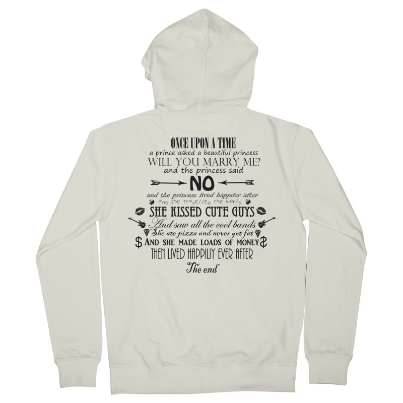 The Awesome Princess Women's Zip-Up Hoody by Tello Daytona's Artist Shop