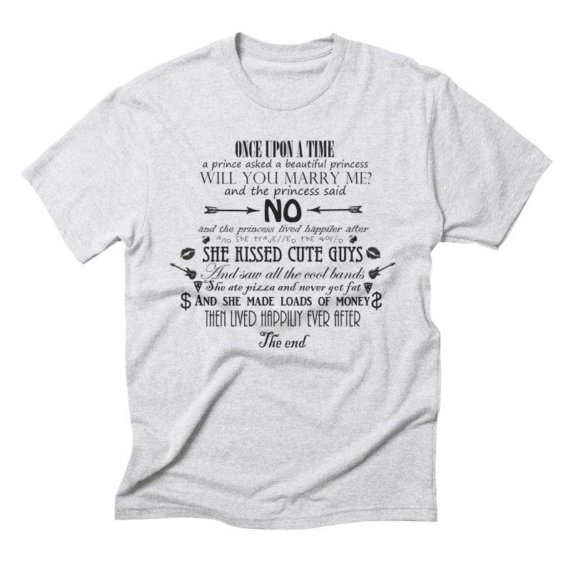 The Awesome Princess Men's Triblend T-Shirt by Tello Daytona's Artist Shop