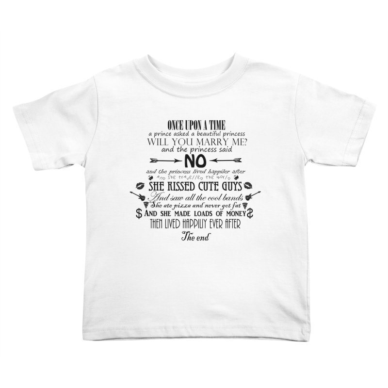 The Awesome Princess Kids Toddler T-Shirt by Tello Daytona's Artist Shop