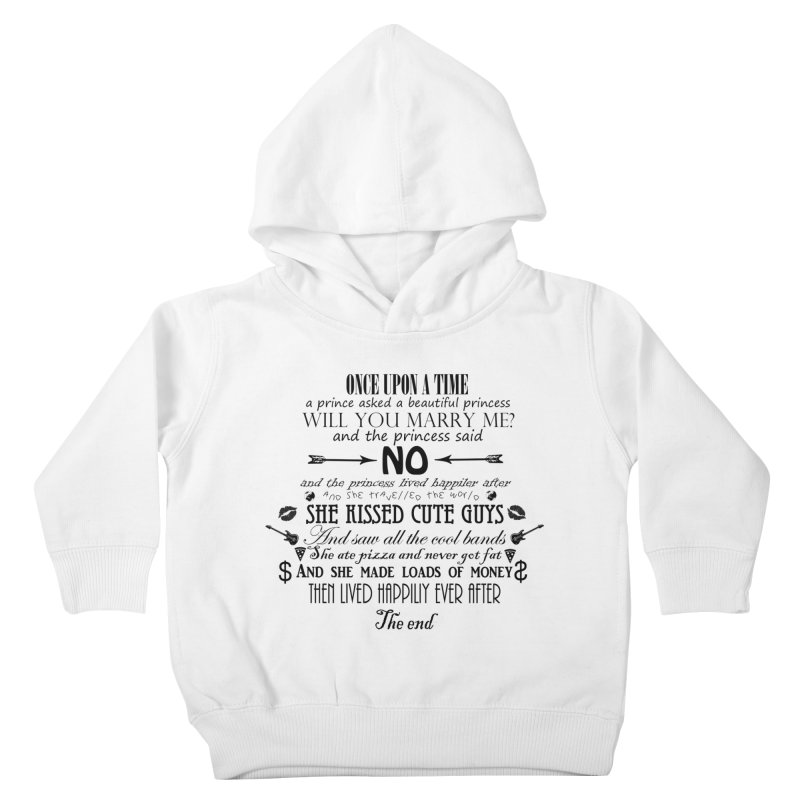 The Awesome Princess Kids Toddler Pullover Hoody by Tello Daytona's Artist Shop