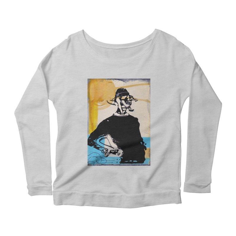 Funkadophilus Women's Scoop Neck Longsleeve T-Shirt by TemuMusic Merch