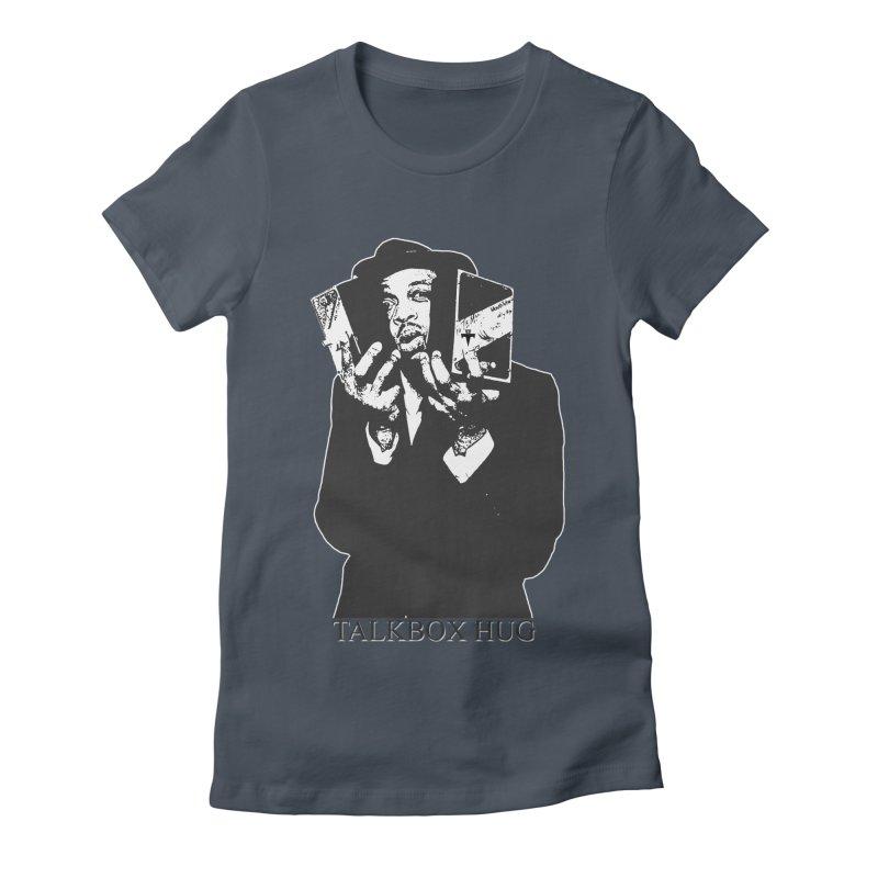 Talkbox Hug Women's Fitted T-Shirt by TemuMusic Merch