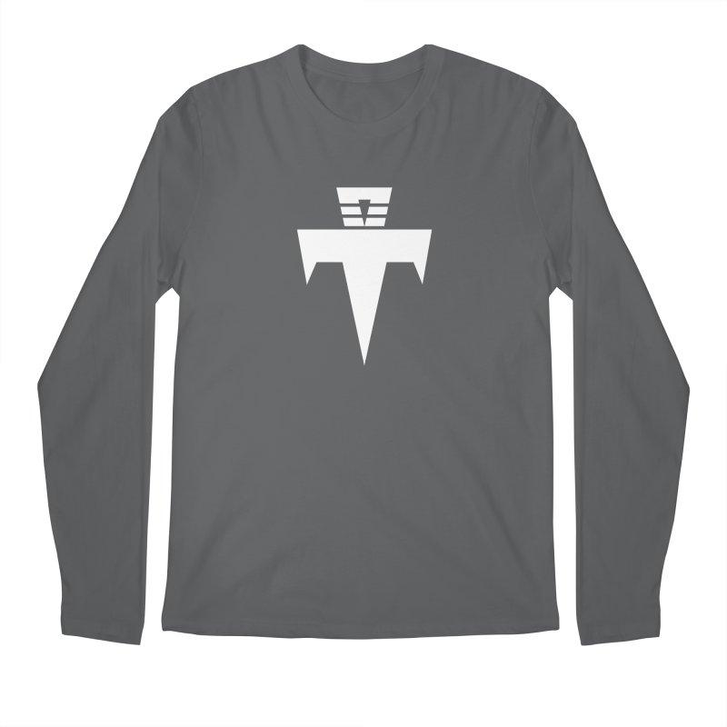 T-Ankh White Men's Regular Longsleeve T-Shirt by TemuMusic Merch