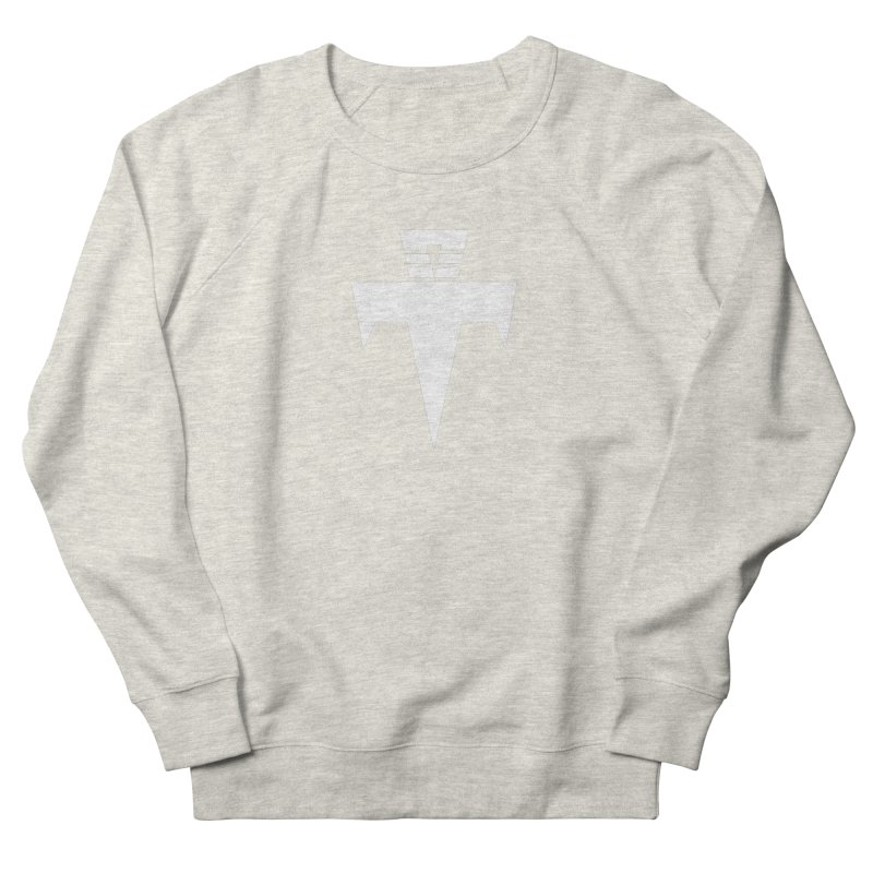 T-Ankh White Men's French Terry Sweatshirt by TemuMusic Merch