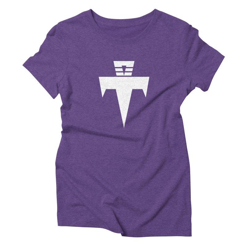 T-Ankh White Women's Triblend T-Shirt by TemuMusic Merch