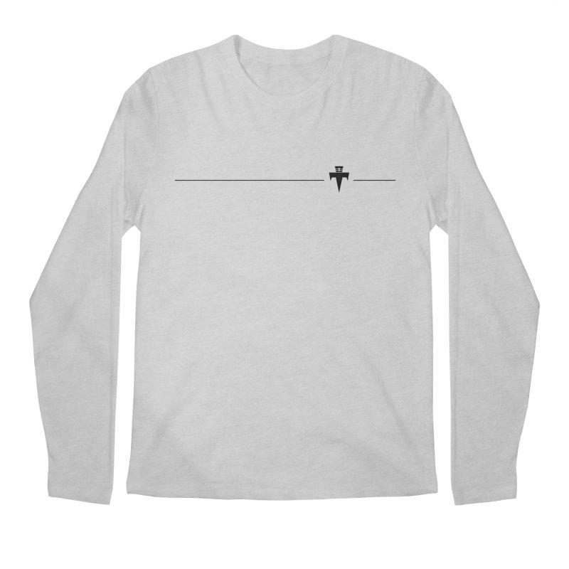 T-Ankh Kognito Black Men's Regular Longsleeve T-Shirt by TemuMusic Merch