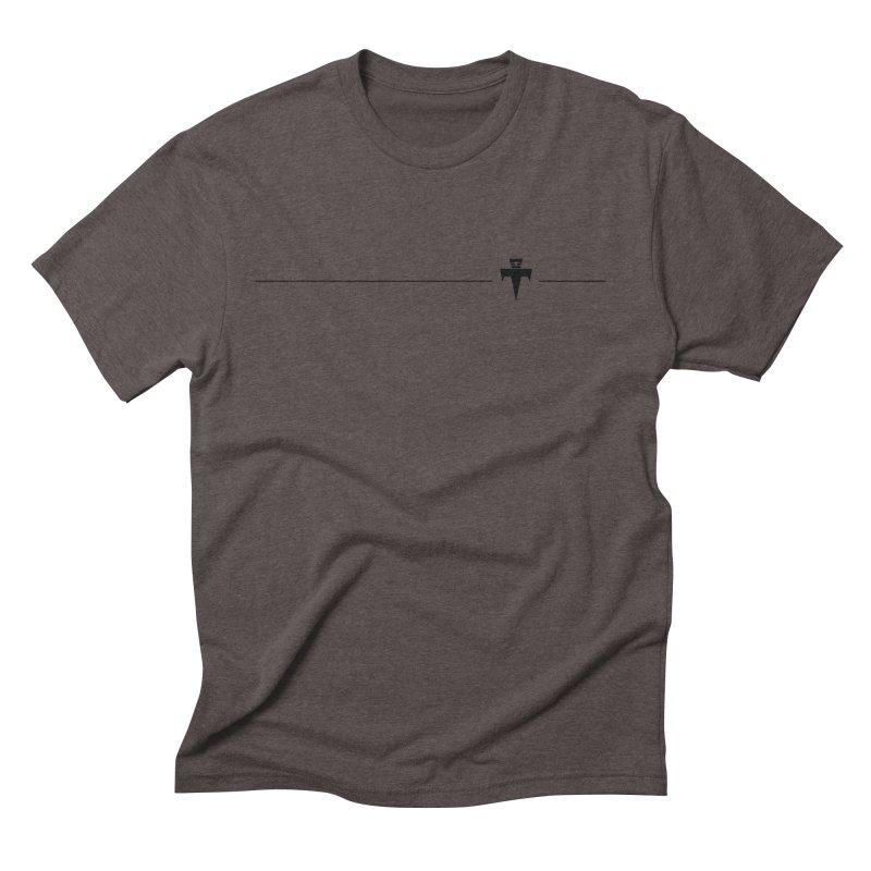 T-Ankh Kognito Black Men's Triblend T-Shirt by TemuMusic Merch