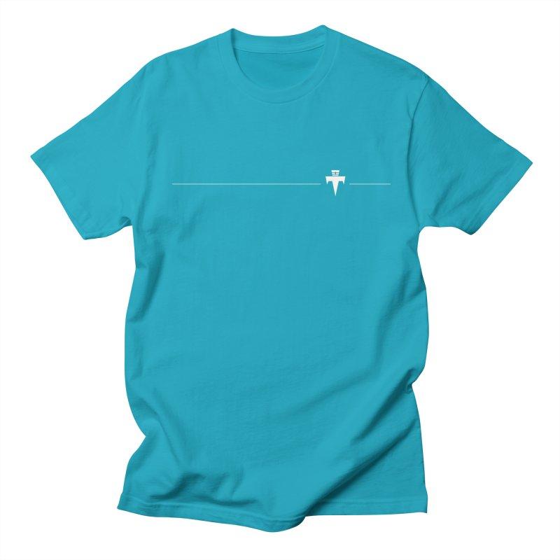 T-Ankh Kognito White Women's Regular Unisex T-Shirt by TemuMusic Merch