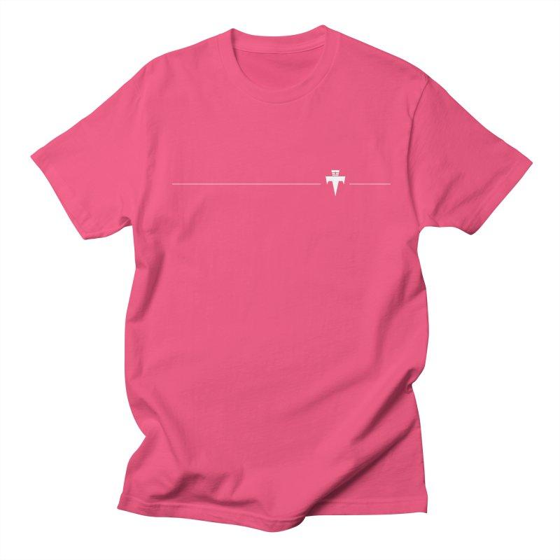 T-Ankh Kognito White Men's Regular T-Shirt by TemuMusic Merch