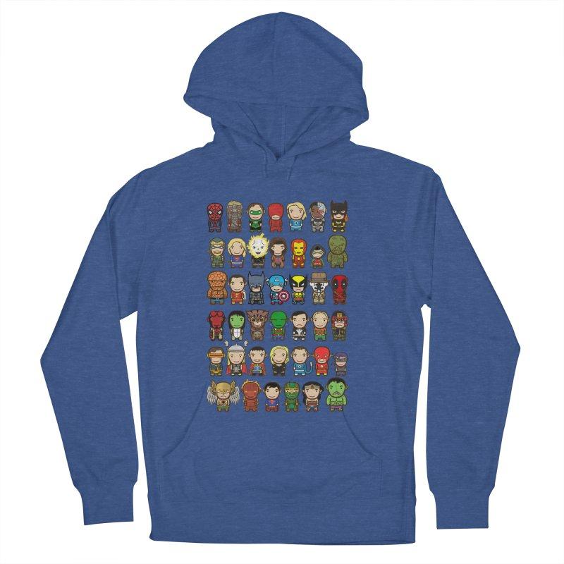 Heroes unite! Women's Pullover Hoody by StarryEyed's Artist Shop