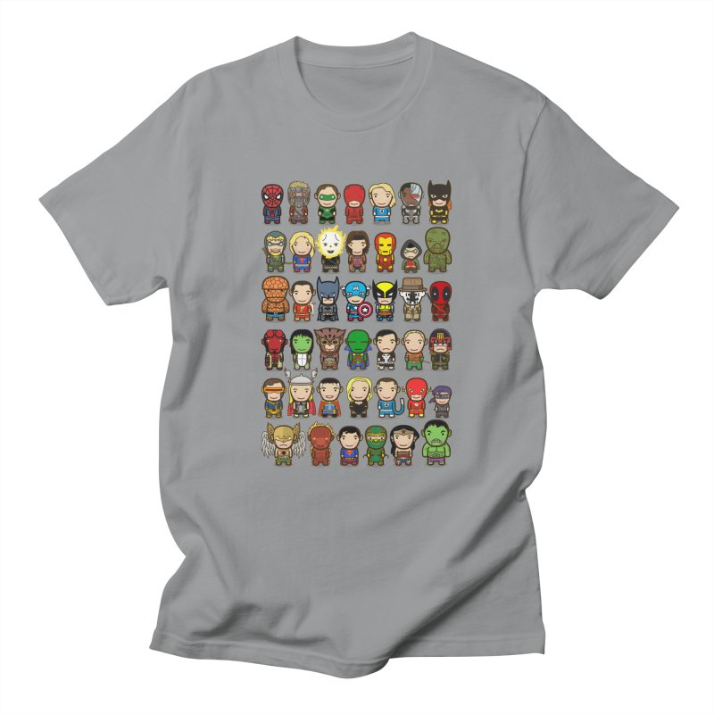 Heroes unite! Men's T-Shirt by StarryEyed's Artist Shop