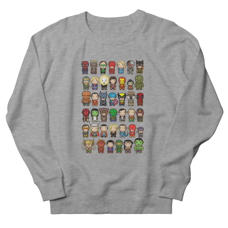 Heroes unite! Men's Sweatshirt by StarryEyed's Artist Shop