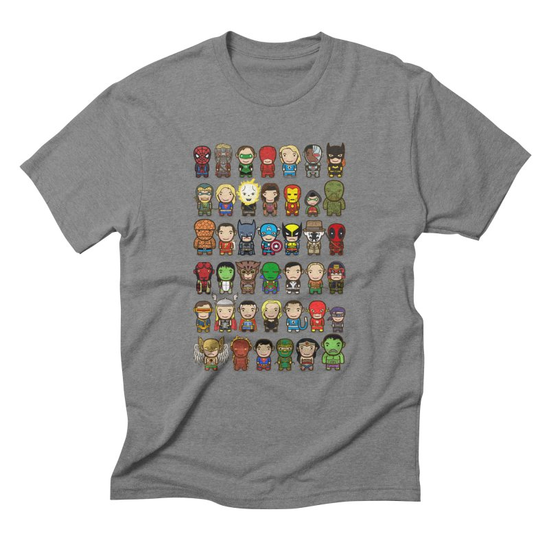 Heroes unite! Men's Triblend T-Shirt by StarryEyed's Artist Shop
