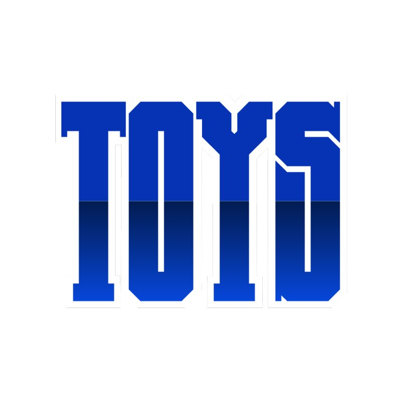TOYS Men's Sweatshirt by Tenacious Toys Apparel Collection