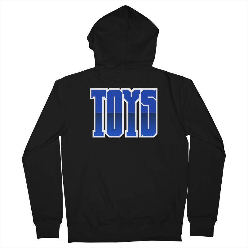 TOYS Men's Zip-Up Hoody by Tenacious Toys Apparel Collection