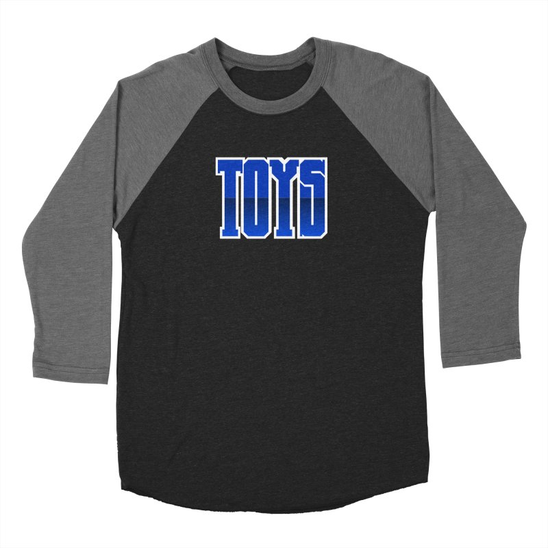 TOYS Men's Baseball Triblend Longsleeve T-Shirt by Tenacious Toys Apparel Collection