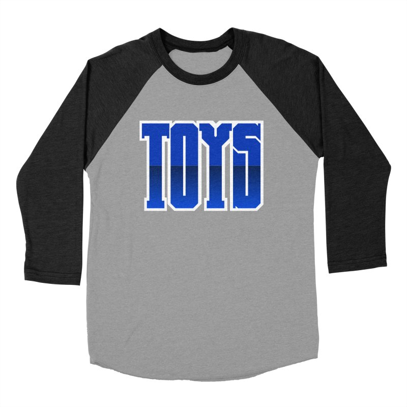 TOYS Women's Baseball Triblend Longsleeve T-Shirt by Tenacious Toys Apparel Collection
