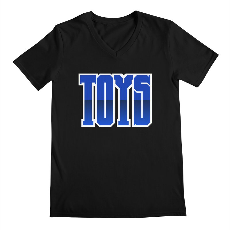 TOYS Men's V-Neck by Tenacious Toys Apparel Collection