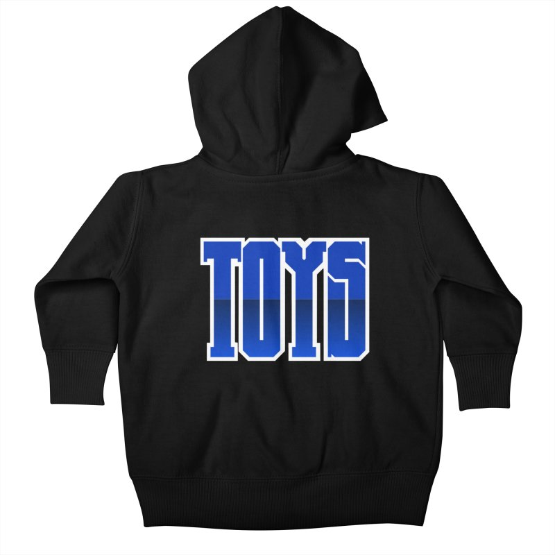 TOYS Kids Baby Zip-Up Hoody by Tenacious Toys Apparel Collection