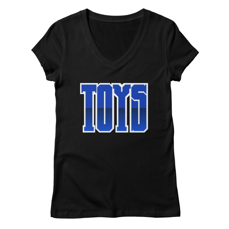 TOYS Women's V-Neck by Tenacious Toys Apparel Collection