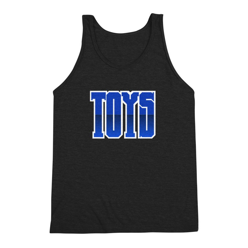 TOYS Men's Triblend Tank by Tenacious Toys Apparel Collection