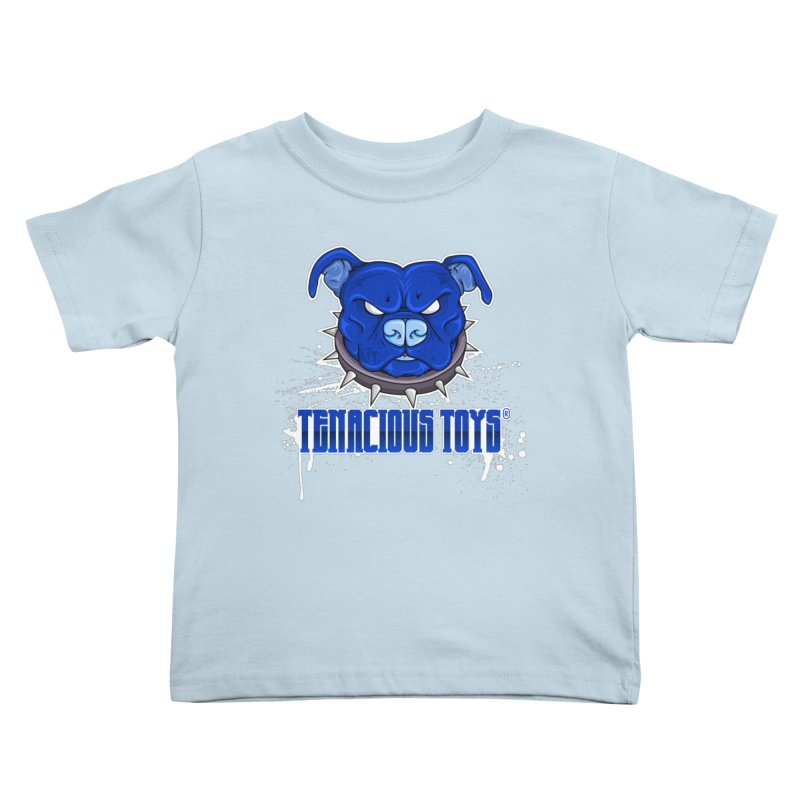 Tenacious Toys Full Logo Kids Toddler T-Shirt by Tenacious Toys Apparel Collection