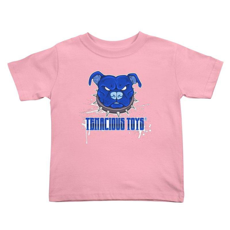 Tenacious Toys Full Logo Kids Toddler T-Shirt by Tenacious Toys Apparel Collection