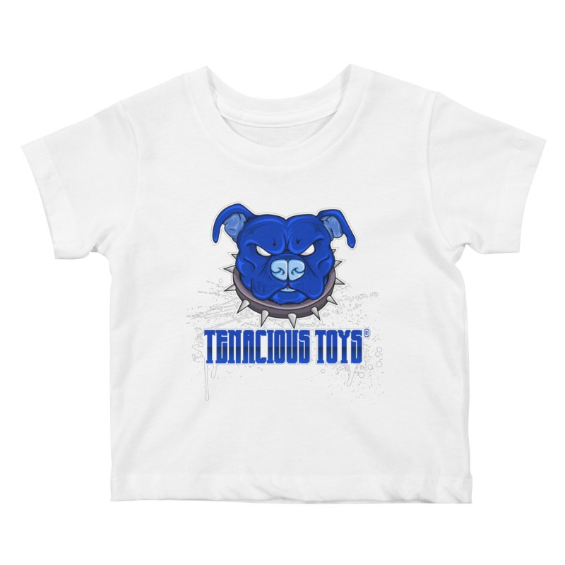 Tenacious Toys Full Logo Kids Baby T-Shirt by Tenacious Toys Apparel Collection