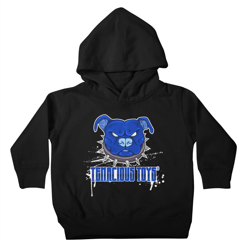Tenacious Toys Full Logo Kids Toddler Pullover Hoody by Tenacious Toys Apparel Collection