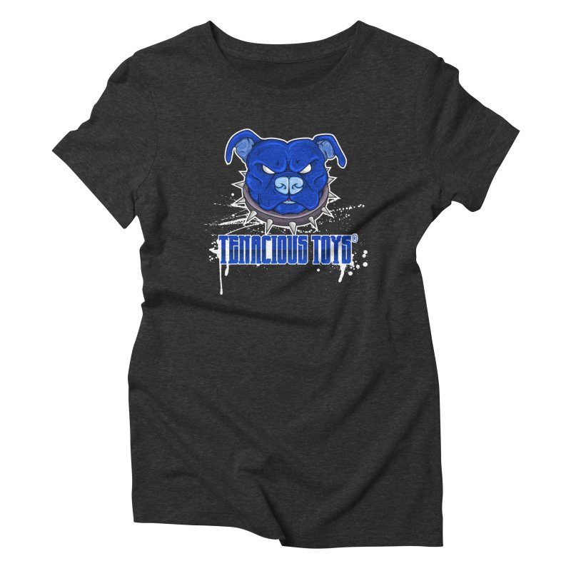Tenacious Toys Full Logo Women's Triblend T-Shirt by Tenacious Toys Apparel Collection