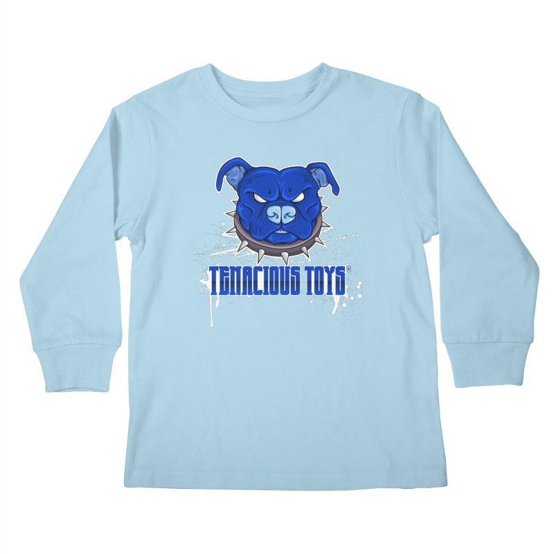 Tenacious Toys Full Logo Kids Longsleeve T-Shirt by Tenacious Toys Apparel Collection