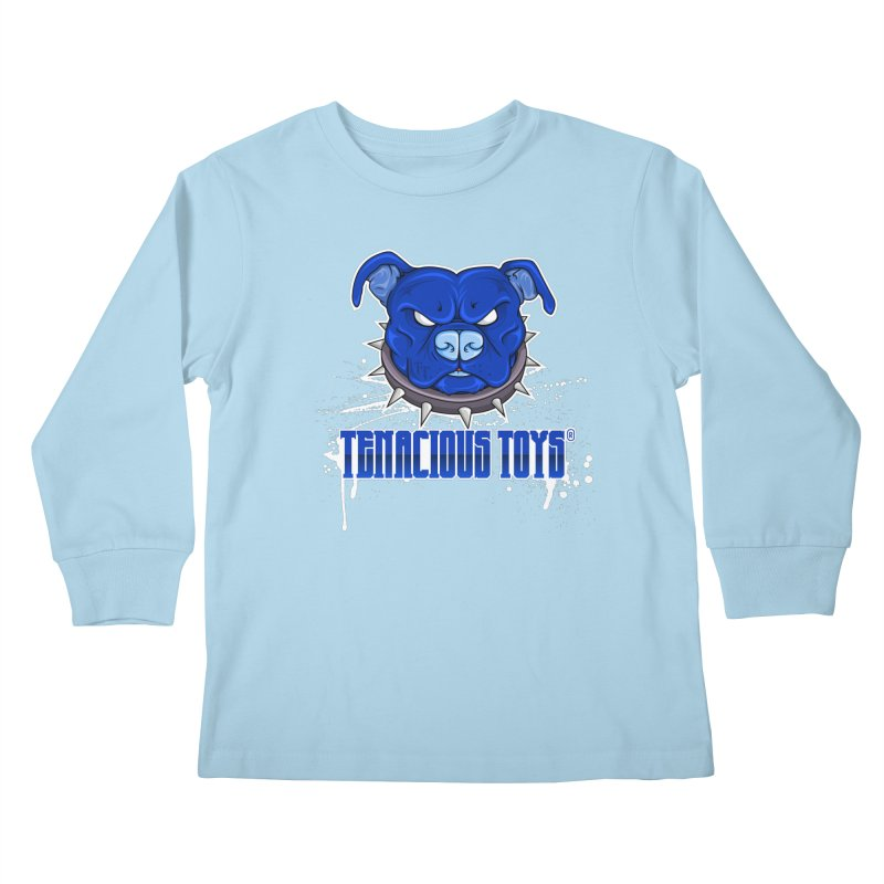 Tenacious Toys Full Logo Kids Longsleeve T-Shirt by Tenacious Toys Apparel Collection