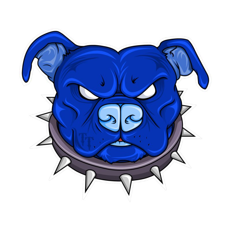 Tenacious Danger - Pit Bull Head Logo by Tenacious Toys Apparel Collection