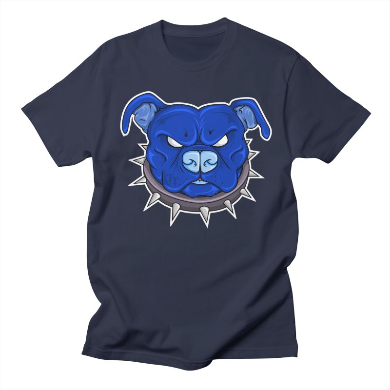 Tenacious Danger - Pit Bull Head Logo Men's Regular T-Shirt by Tenacious Toys Apparel Collection