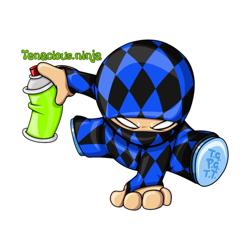 Tenacious Ninja Blog Logo   by Tenacious Toys Apparel Collection