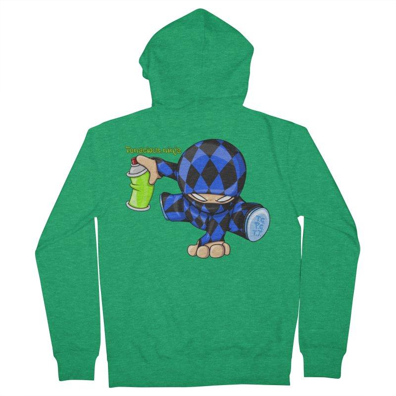 Tenacious Ninja Blog Logo Women's Zip-Up Hoody by Tenacious Toys Apparel Collection