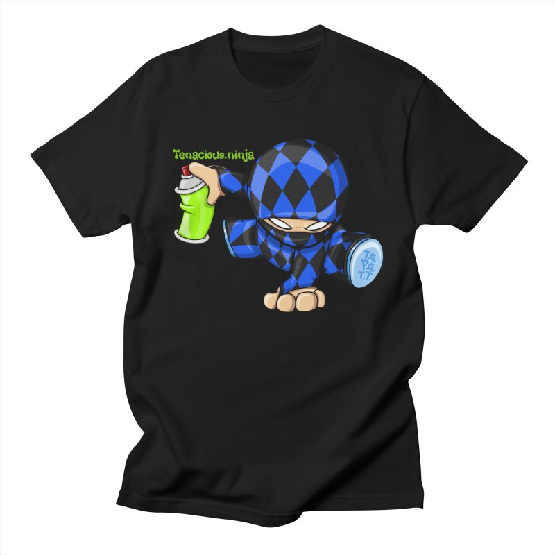 Tenacious Ninja Blog Logo Men's T-Shirt by Tenacious Toys Apparel Collection