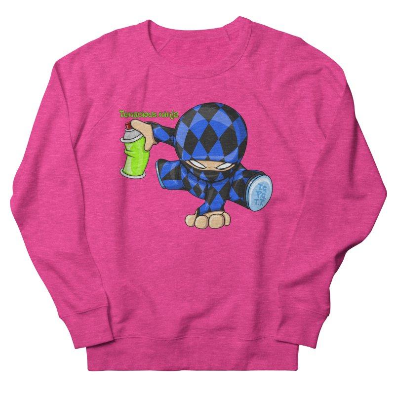 Tenacious Ninja Blog Logo Women's Sweatshirt by Tenacious Toys Apparel Collection