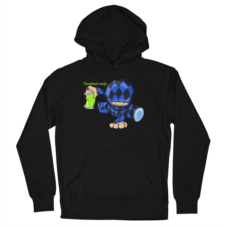 Tenacious Ninja Blog Logo Men's Pullover Hoody by Tenacious Toys Apparel Collection