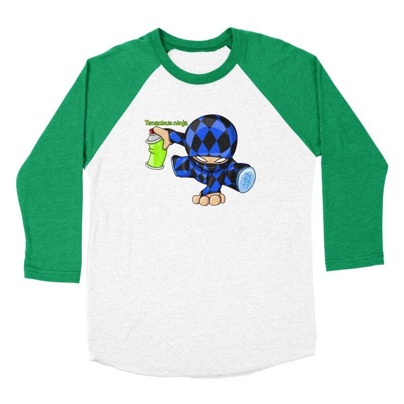 Tenacious Ninja Blog Logo Men's Longsleeve T-Shirt by Tenacious Toys Apparel Collection