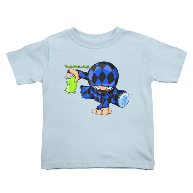 Tenacious Ninja Blog Logo Kids Toddler T-Shirt by Tenacious Toys Apparel Collection