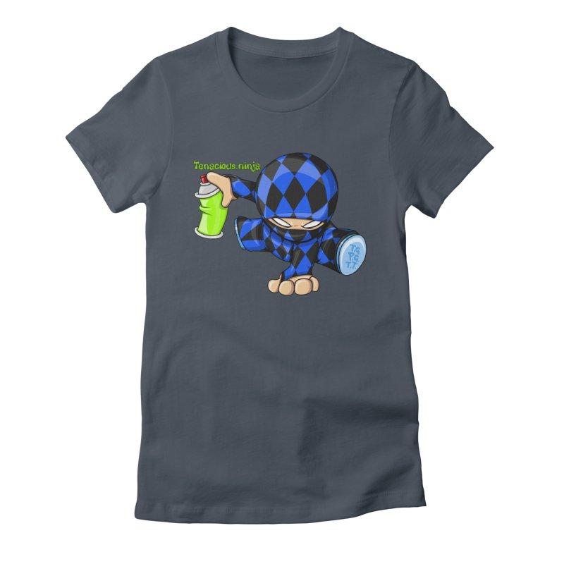 Tenacious Ninja Blog Logo Women's T-Shirt by Tenacious Toys Apparel Collection