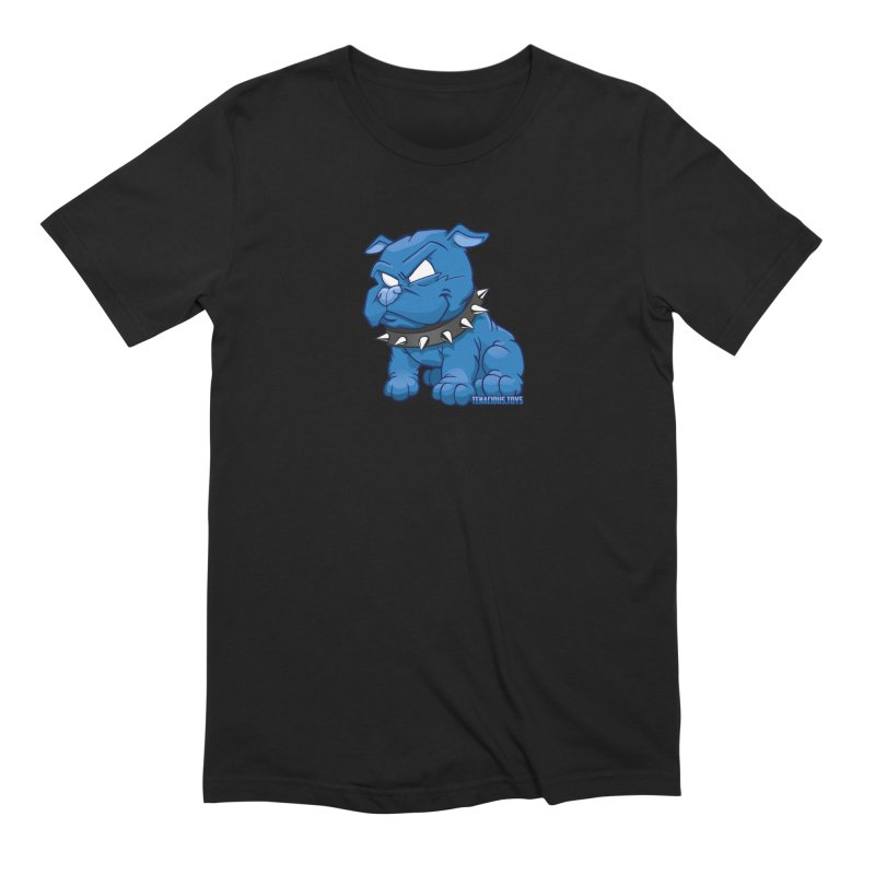 Danger Dog by Willie Beren Men's Extra Soft T-Shirt by Tenacious Toys Apparel Collection