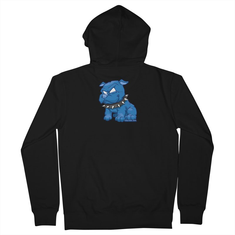 Danger Dog by Willie Beren Men's Zip-Up Hoody by Tenacious Toys Apparel Collection