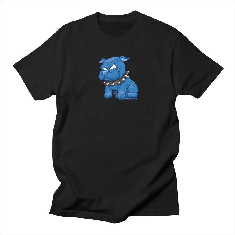 Danger Dog by Willie Beren Men's Regular T-Shirt by Tenacious Toys Apparel Collection