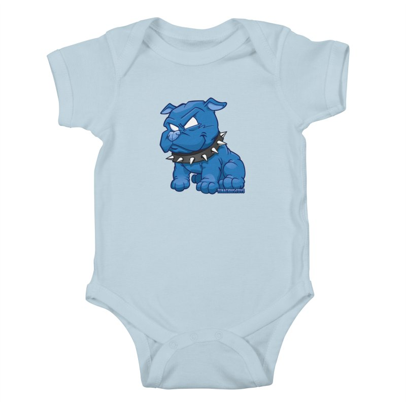 Danger Dog by Willie Beren Kids Baby Bodysuit by Tenacious Toys Apparel Collection