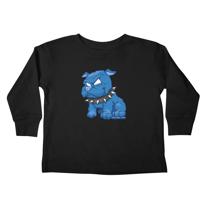 Danger Dog by Willie Beren Kids Toddler Longsleeve T-Shirt by Tenacious Toys Apparel Collection